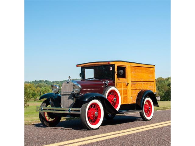 1930 Ford Model A Woody Panel Truck