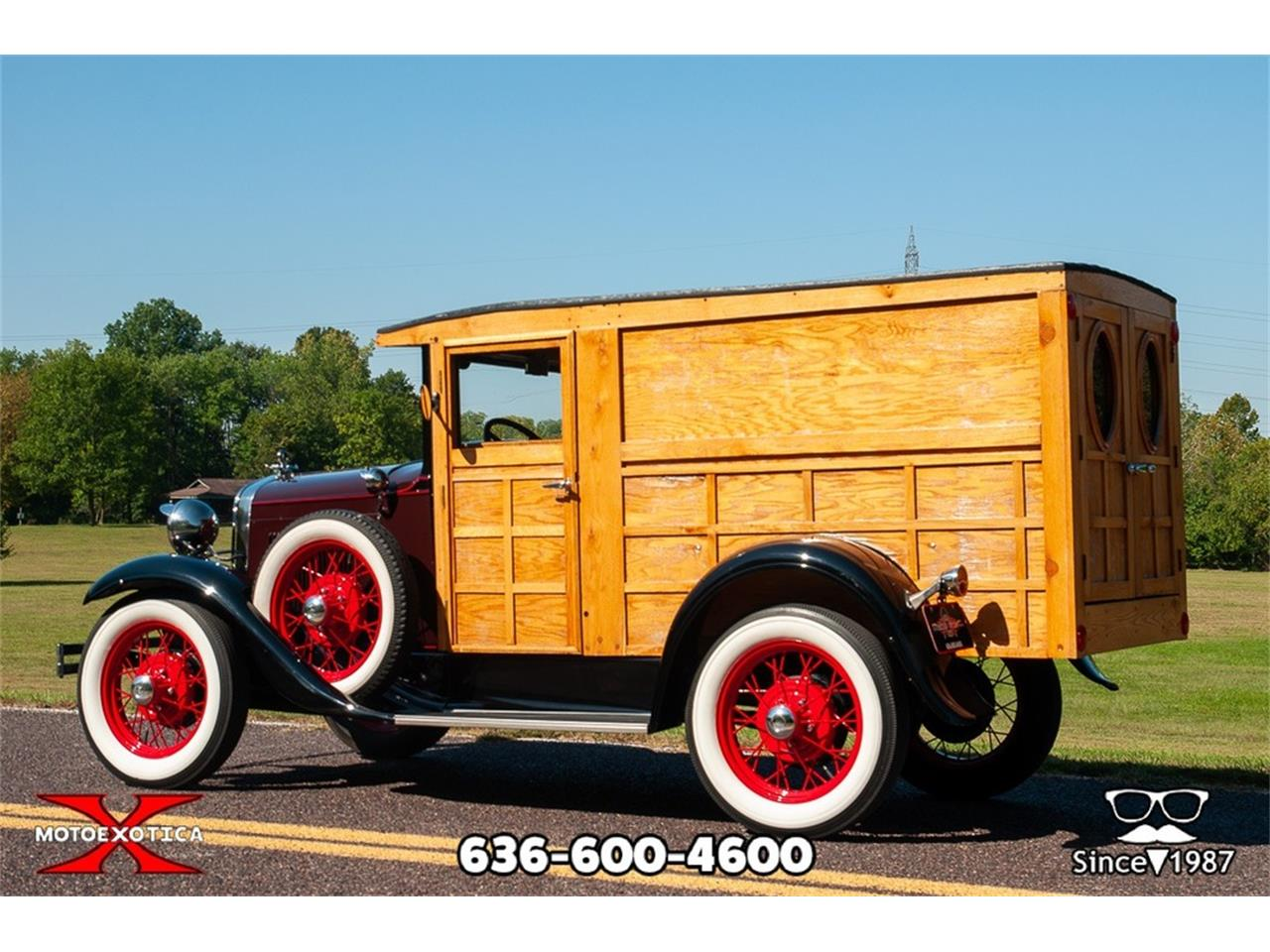 1930 Ford Model A Woody Panel Truck For Sale Cc Chevy Sedan Spare Tire Mount Large Picture Of 30 Okr9