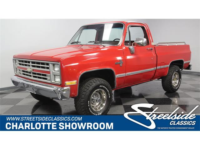 Picture of '86 Chevrolet K-10 located in Concord North Carolina - $27,995.00 - OKWW
