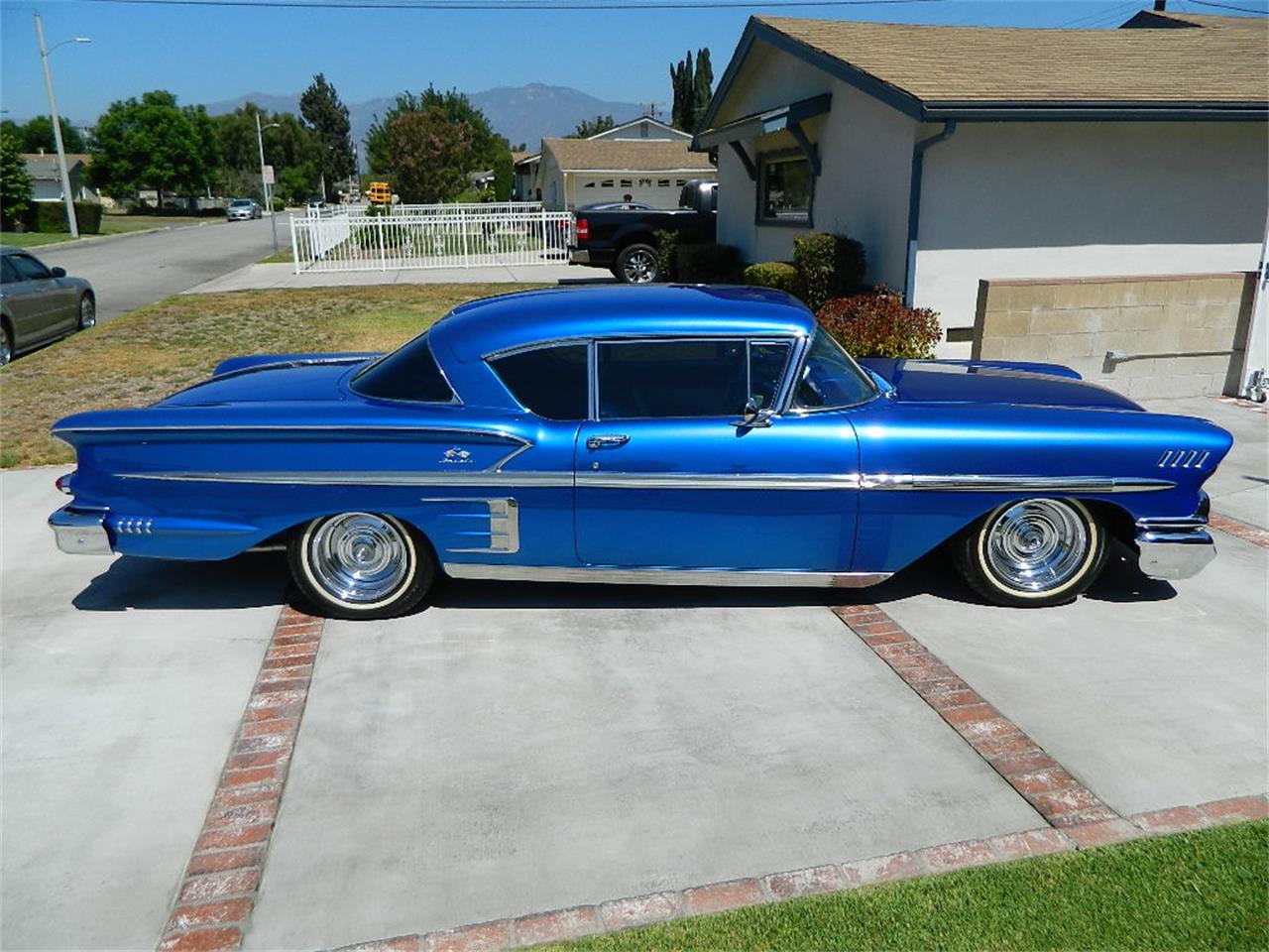 Classic Cars For Sale California Usa: 1958 Chevrolet Impala For Sale