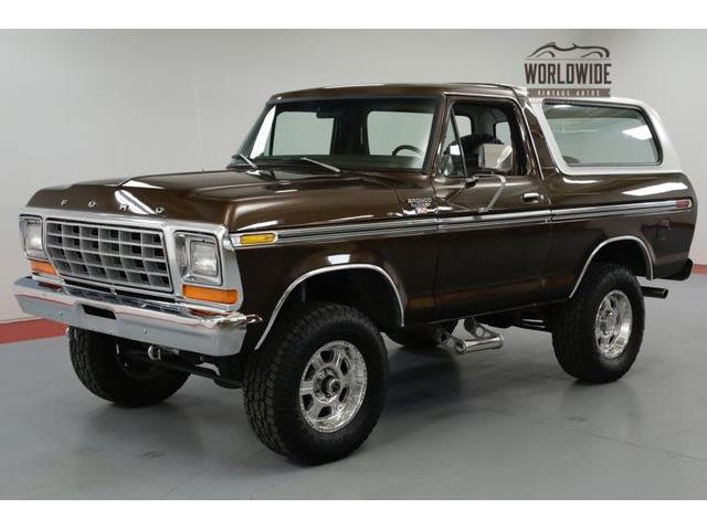 1978 To 1980 Ford Bronco For Sale On ClassicCars.com