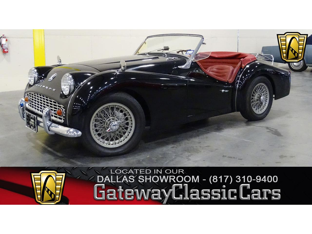 For Sale: 1958 Triumph TR3 in DFW Airport, Texas