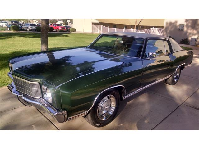 Picture of 1970 Monte Carlo located in Phoenix Arizona - $16,000.00 Offered by a Private Seller - OLAH