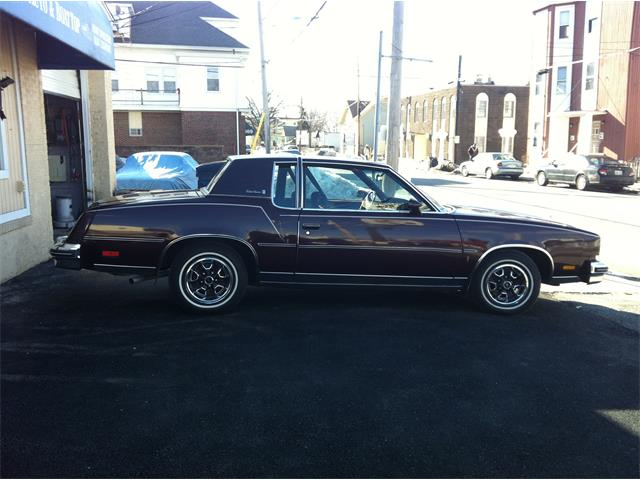 Picture of 1980 Cutlass Supreme Brougham located in North Providence Rhode Island Offered by a Private Seller - OLAI