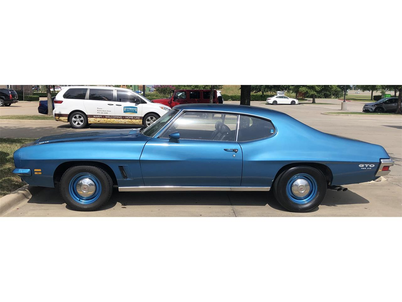Large Picture of Classic 1972 Pontiac GTO located in Richardson Texas Offered by a Private Seller - OLDK