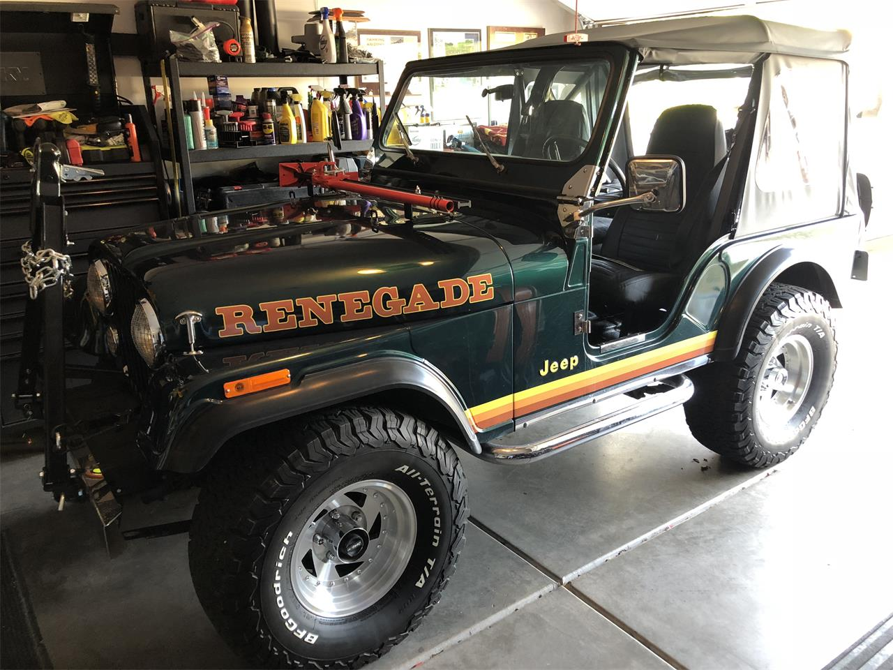 Large Picture of 1982 Jeep CJ5 located in Chandler Arizona - $14,950.00 Offered by a Private Seller - OG7D