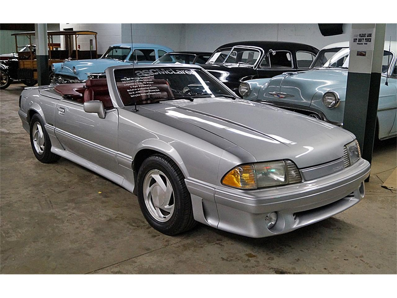 Mclaren For Sale >> 1989 Ford Mustang Mclaren For Sale Classiccars Com Cc 1148045