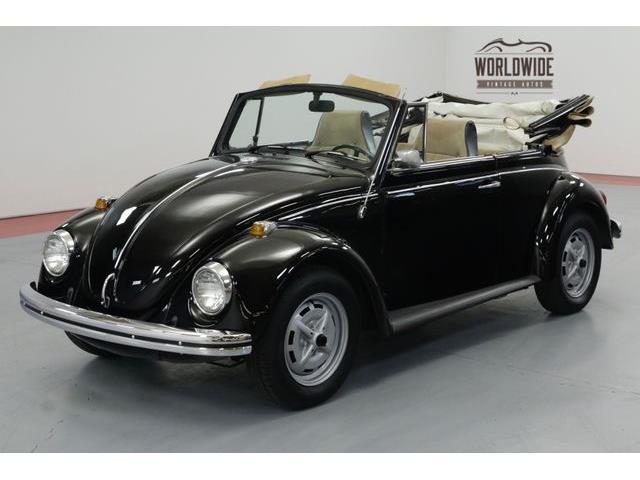 1969 volkswagen beetle value
