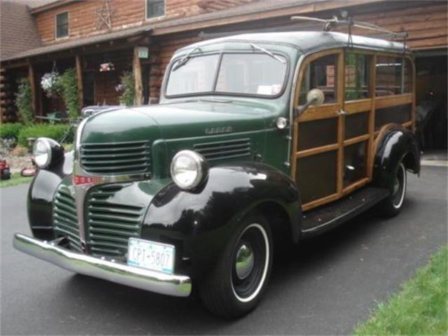 Picture of Classic '47 Dodge Wagon located in Michigan Offered by  - OLXN