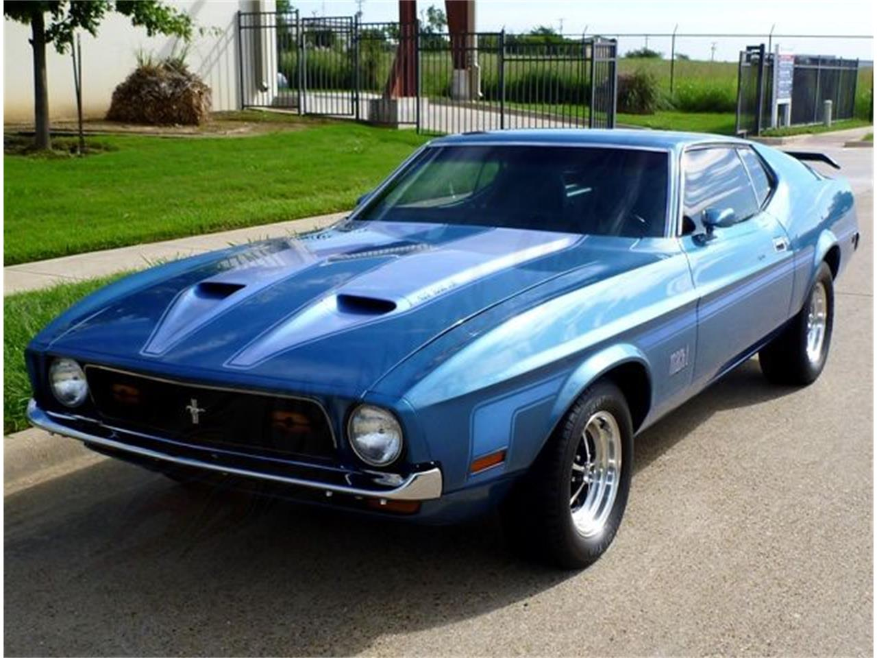 1971 Ford Mustang Mach 1 For Sale Cc 1148206 Large Picture Of 71 Olym