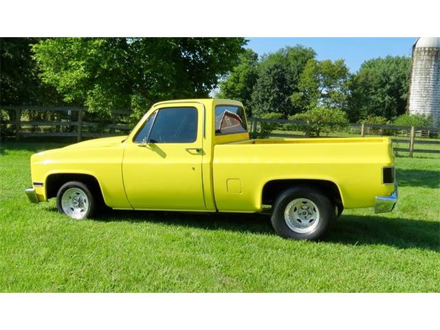 Picture of '84 Chevrolet C/K 10 located in Dayton Ohio - $13,500.00 - OMJ3