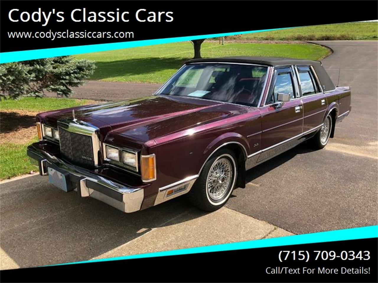 1989 Lincoln Town Car For Sale Classiccars Com Cc 1149182