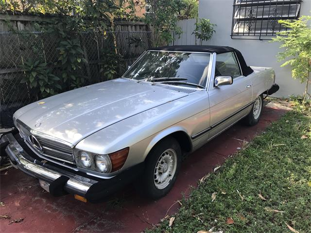 Picture of 1984 Mercedes-Benz SL380 located in Key Biscayne Florida - OMUL