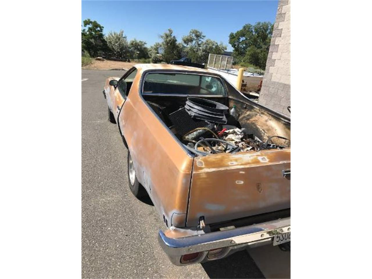 Large Picture of '73 El Camino - OMWJ