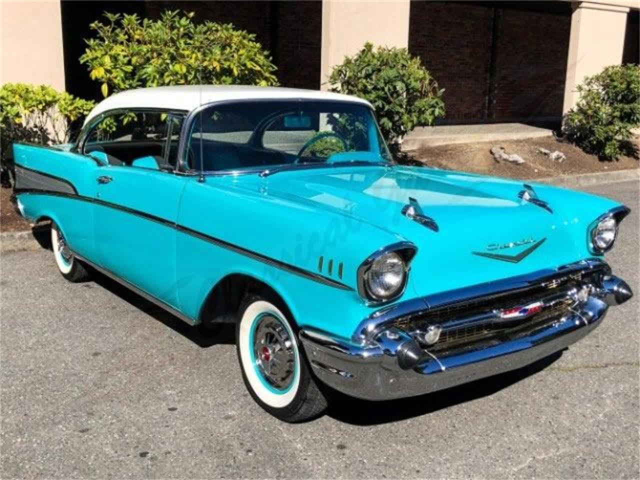 Large Picture Of Classic 1957 Chevrolet Bel Air Located In Arlington Texas    OMYC