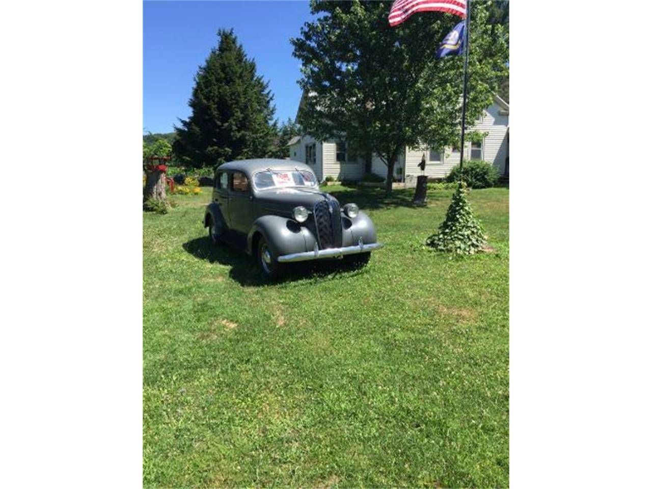 Large Picture of Classic 1937 4-Dr Sedan located in Michigan Offered by Classic Car Deals - ON91