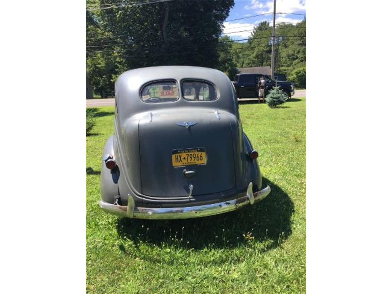 Large Picture of Classic 1937 Plymouth 4-Dr Sedan located in Cadillac Michigan - $15,495.00 - ON91