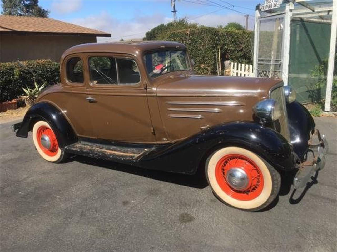 For Sale: 1934 Chevrolet Coupe in Cadillac, Michigan