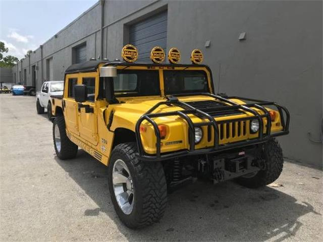 classic hummer h1 for sale on. Black Bedroom Furniture Sets. Home Design Ideas