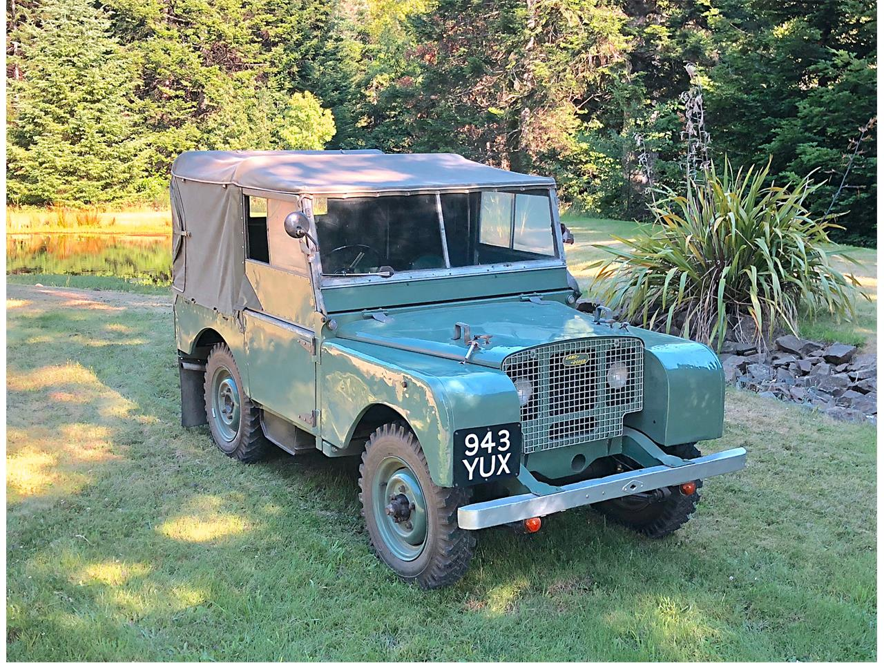 Large Picture of Classic '49 Land Rover Series I located in Oregon - $64,500.00 - OOFL