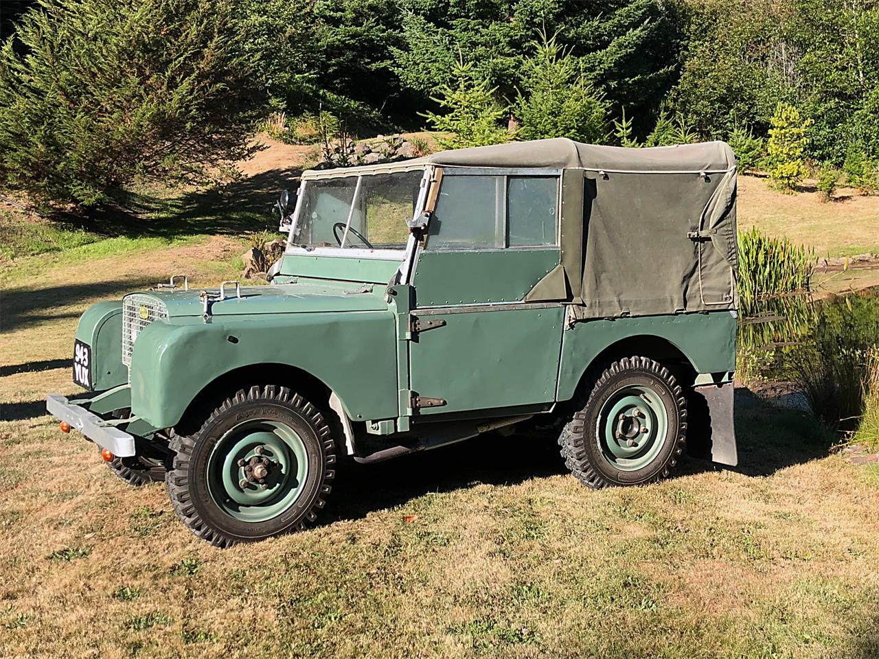 Large Picture of Classic '49 Land Rover Series I located in Oregon - OOFL