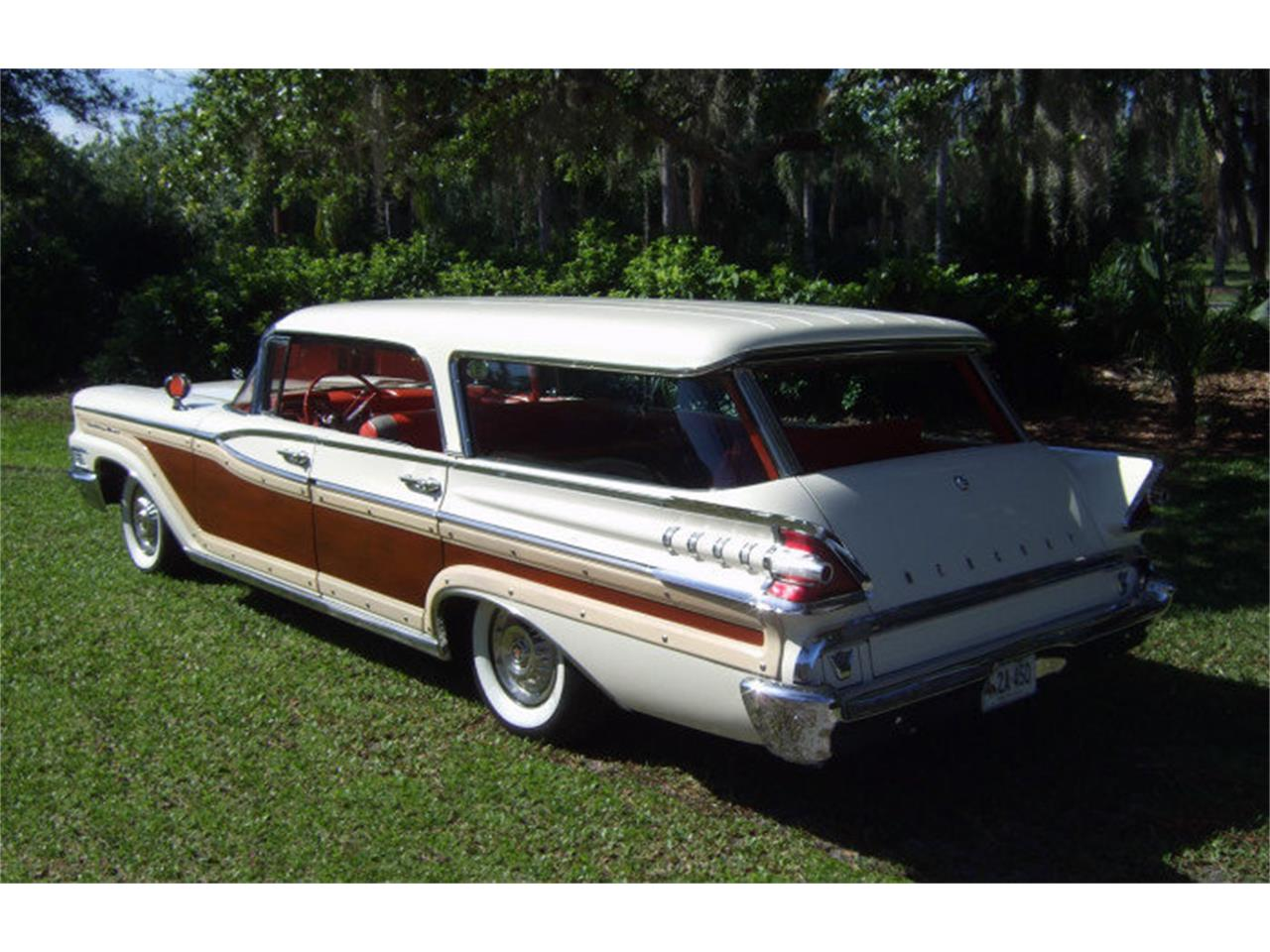 Large Picture of Classic '59 Mercury Colony Park located in Florida Offered by Premier Auction Group - ONCV
