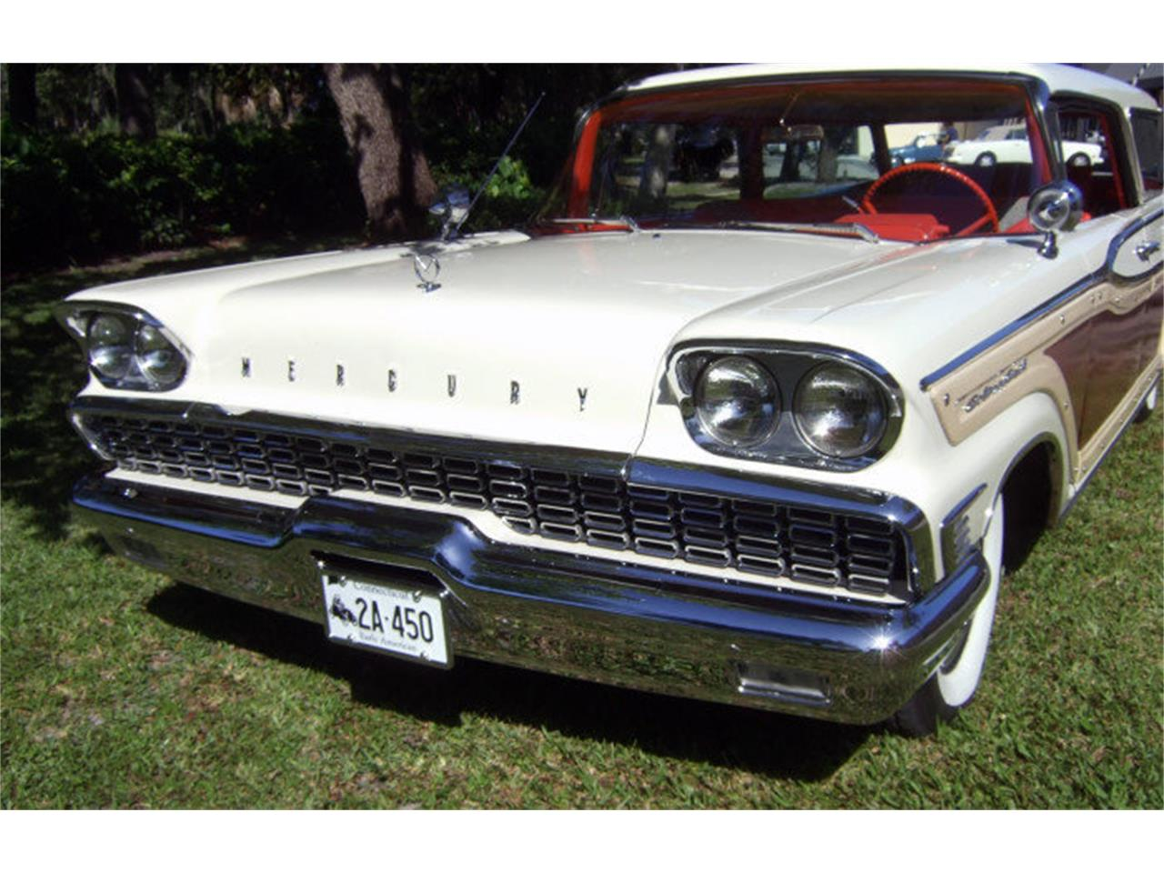 Large Picture of Classic '59 Mercury Colony Park located in Punta Gorda Florida Auction Vehicle Offered by Premier Auction Group - ONCV