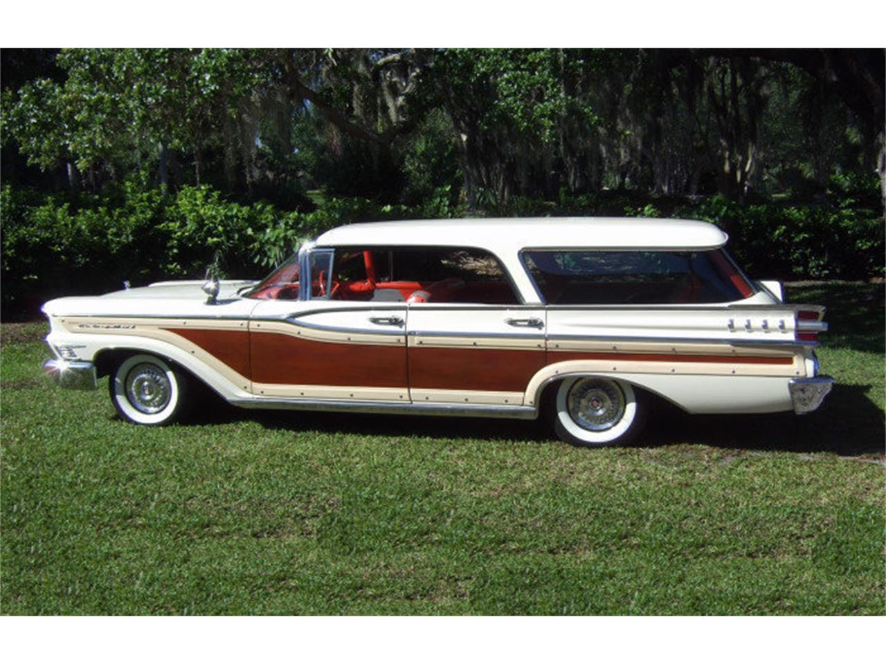 Large Picture of '59 Mercury Colony Park located in Punta Gorda Florida Auction Vehicle - ONCV