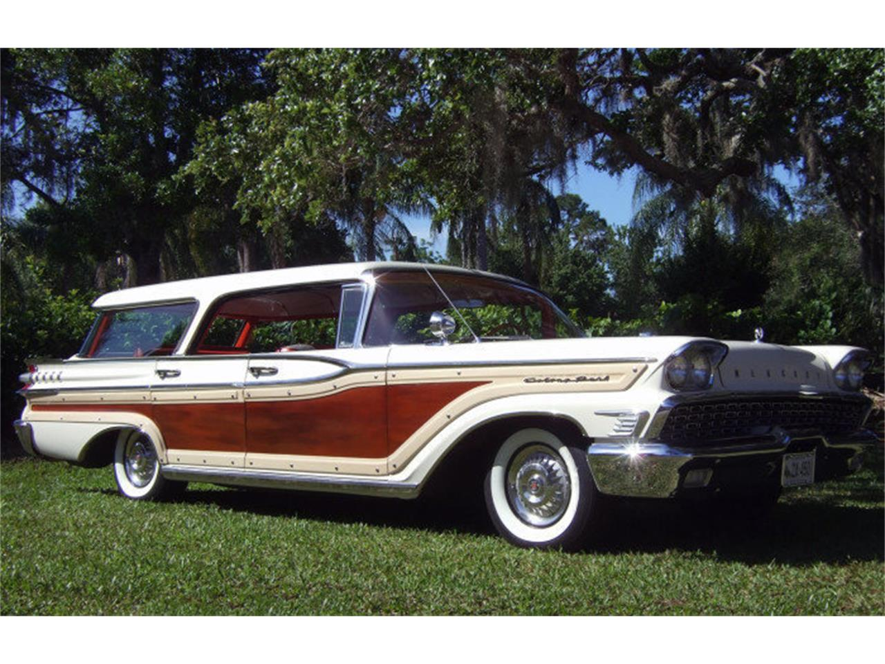 Large Picture of 1959 Mercury Colony Park Auction Vehicle - ONCV