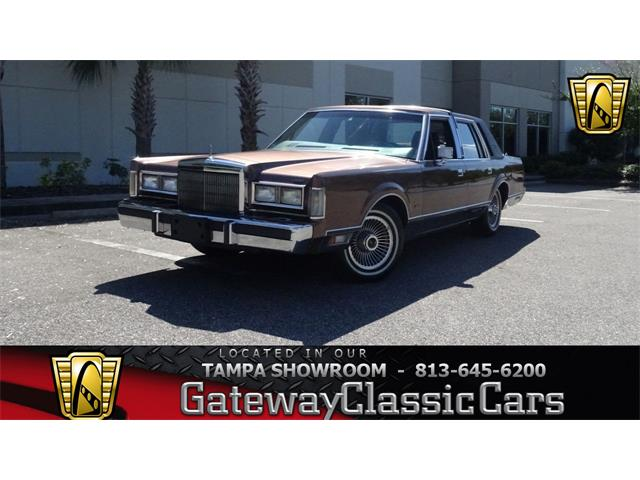 1988 Lincoln Town Car For Sale Classiccars Com Cc 1041532