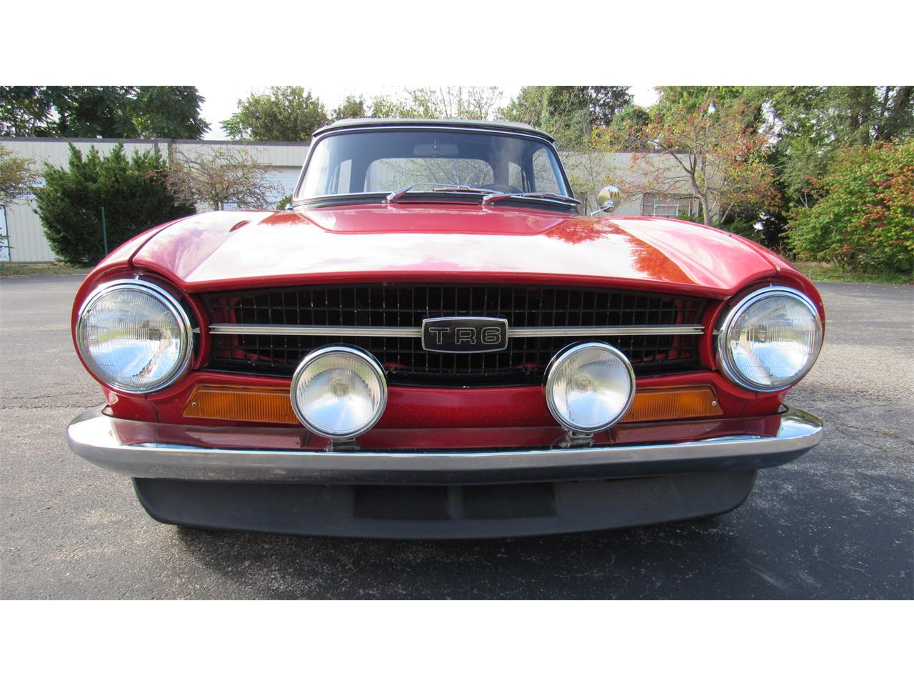 Large Picture of '71 TR6 - OOR3