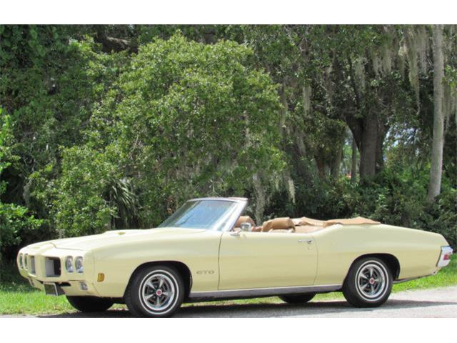 Picture of Classic '70 Pontiac GTO located in Florida Auction Vehicle Offered by  - ONCZ