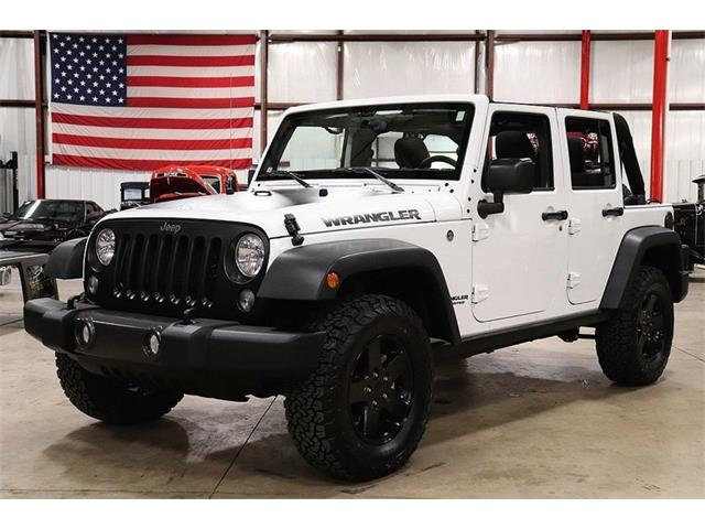 Picture of 2017 Wrangler located in Michigan - $38,900.00 Offered by  - OP0Q