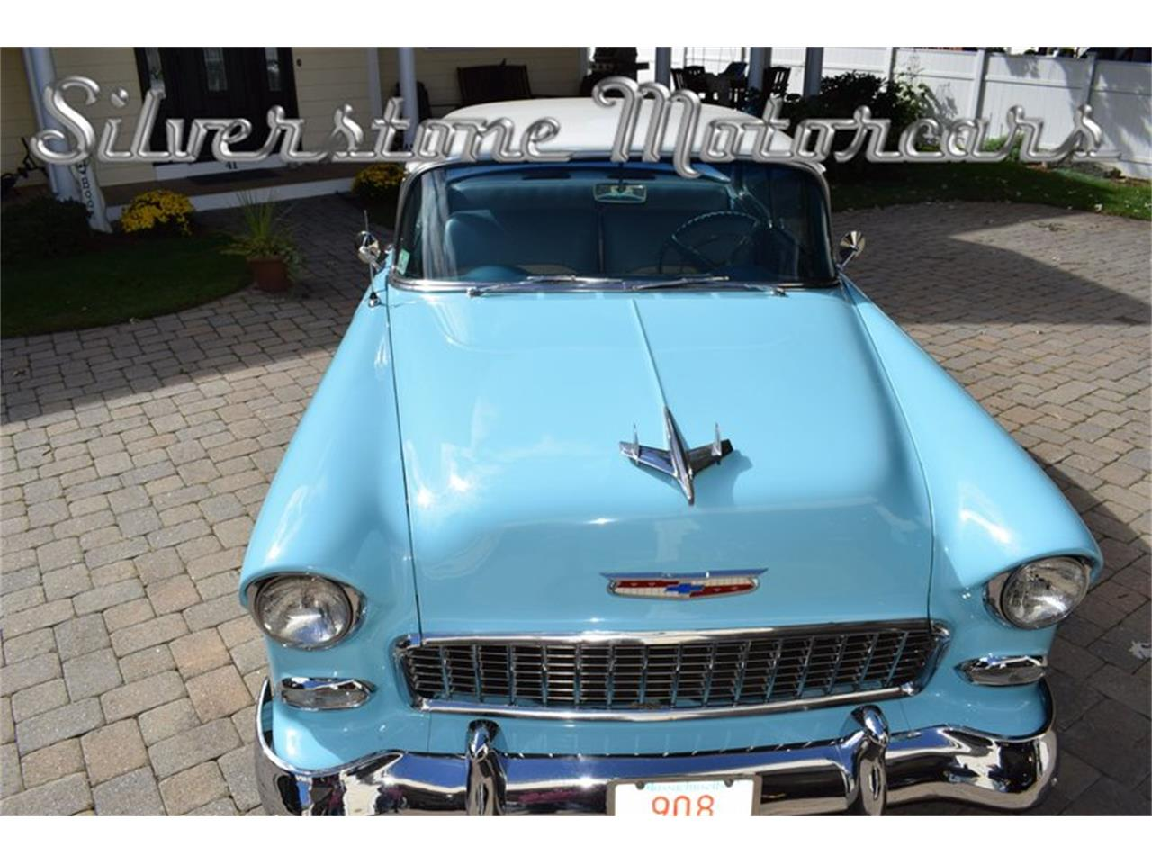Large Picture of Classic 1955 Chevrolet Bel Air located in Massachusetts Offered by Silverstone Motorcars - OP23
