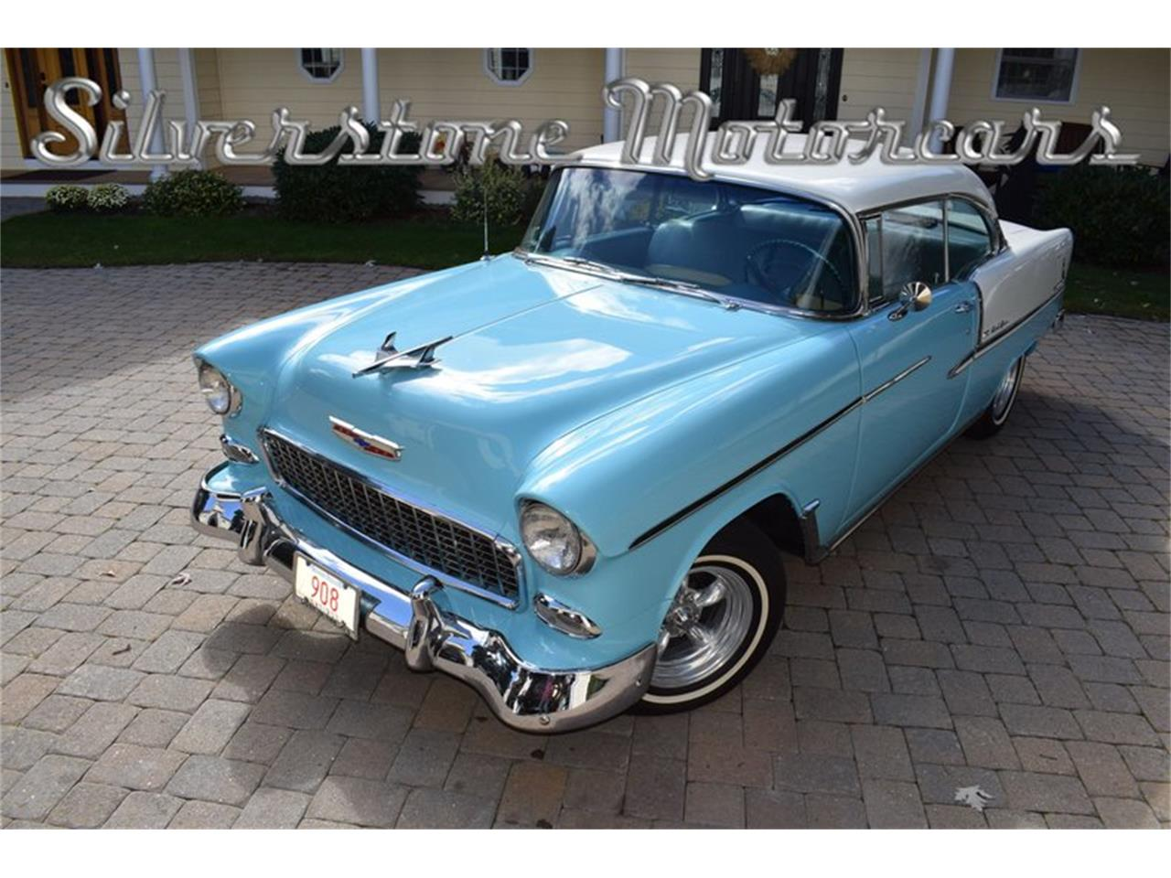 Large Picture of '55 Chevrolet Bel Air Offered by Silverstone Motorcars - OP23
