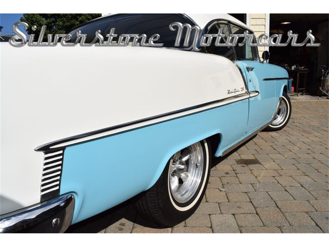 Large Picture of Classic '55 Bel Air located in Massachusetts - $35,500.00 Offered by Silverstone Motorcars - OP23