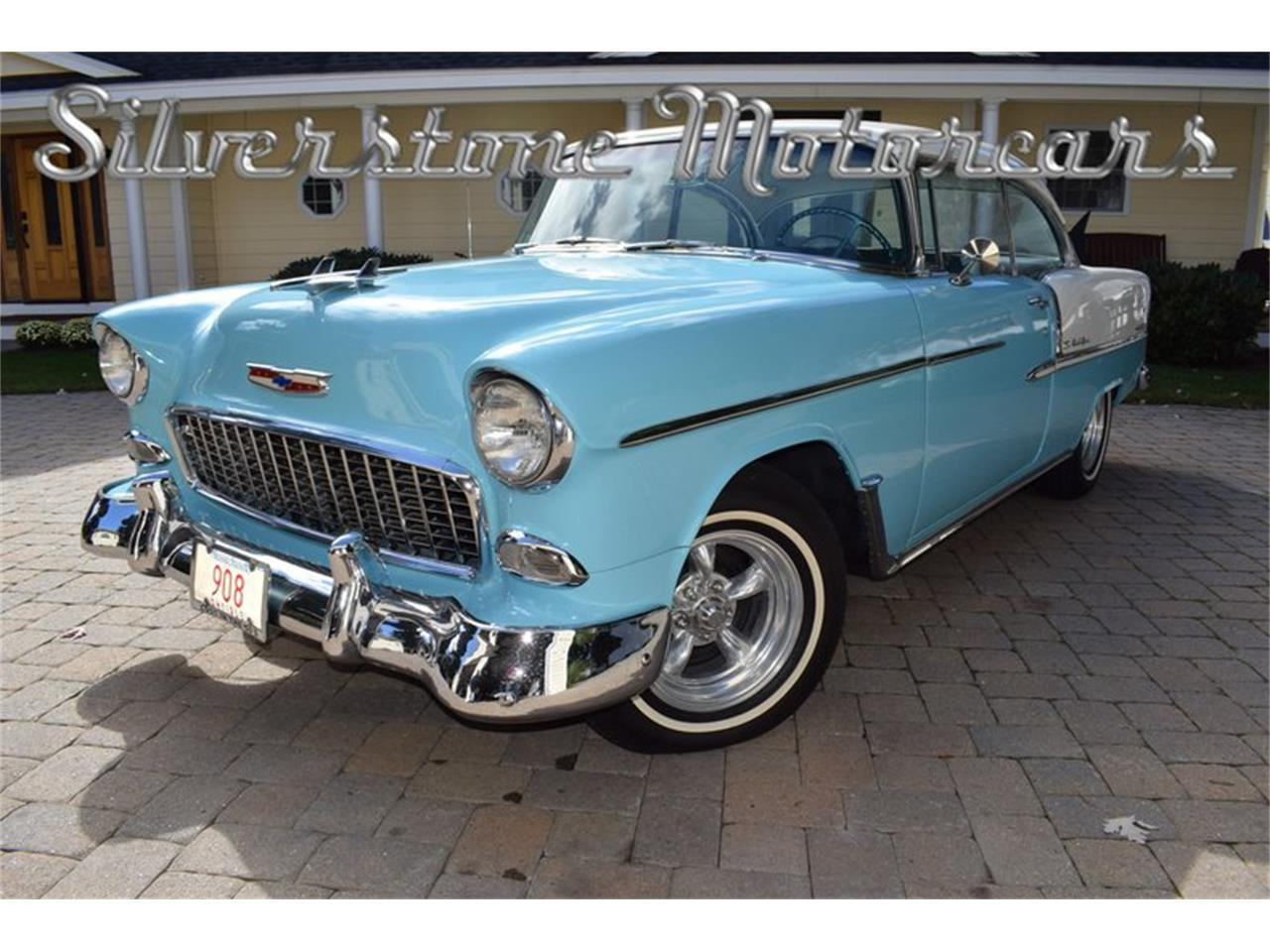 Large Picture of 1955 Chevrolet Bel Air located in Massachusetts - $35,500.00 - OP23