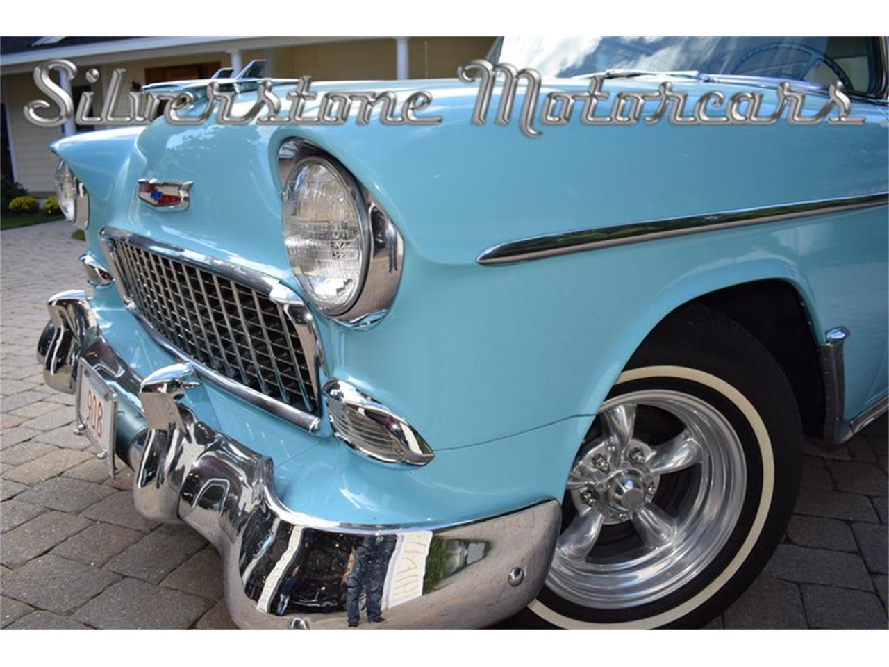Large Picture of '55 Bel Air located in North Andover Massachusetts Offered by Silverstone Motorcars - OP23