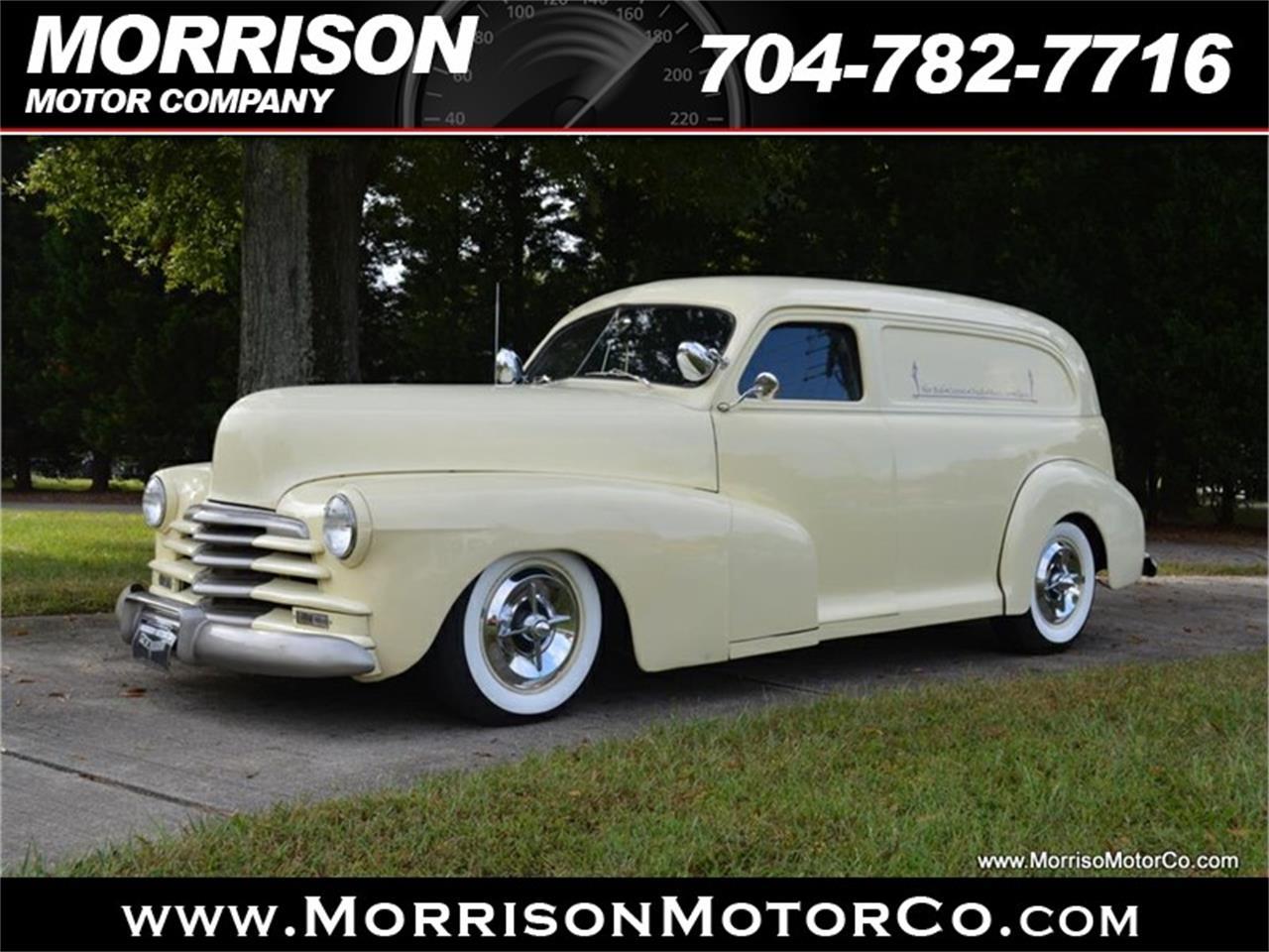 For Sale 1948 Chevrolet Sedan Delivery In Concord North Carolina