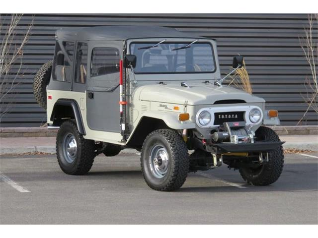 Picture of Classic 1973 Land Cruiser FJ located in Idaho - $26,995.00 - OP56