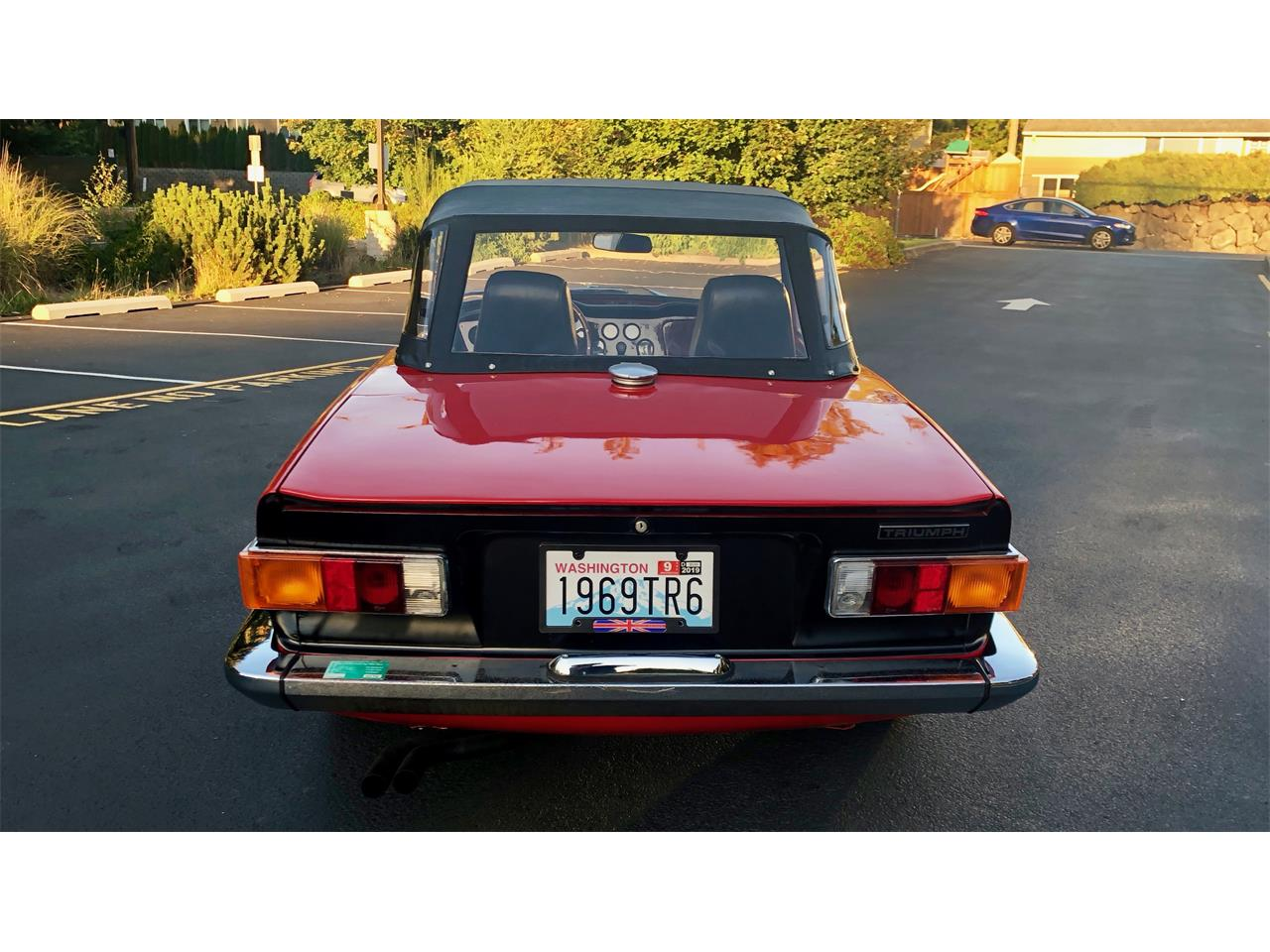 Large Picture of '69 TR6 - ONJE