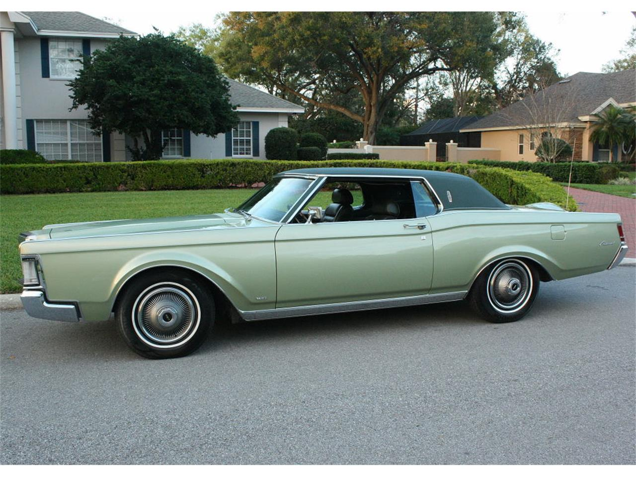Large Picture of '69 Lincoln Continental Mark III located in Florida - OPDW