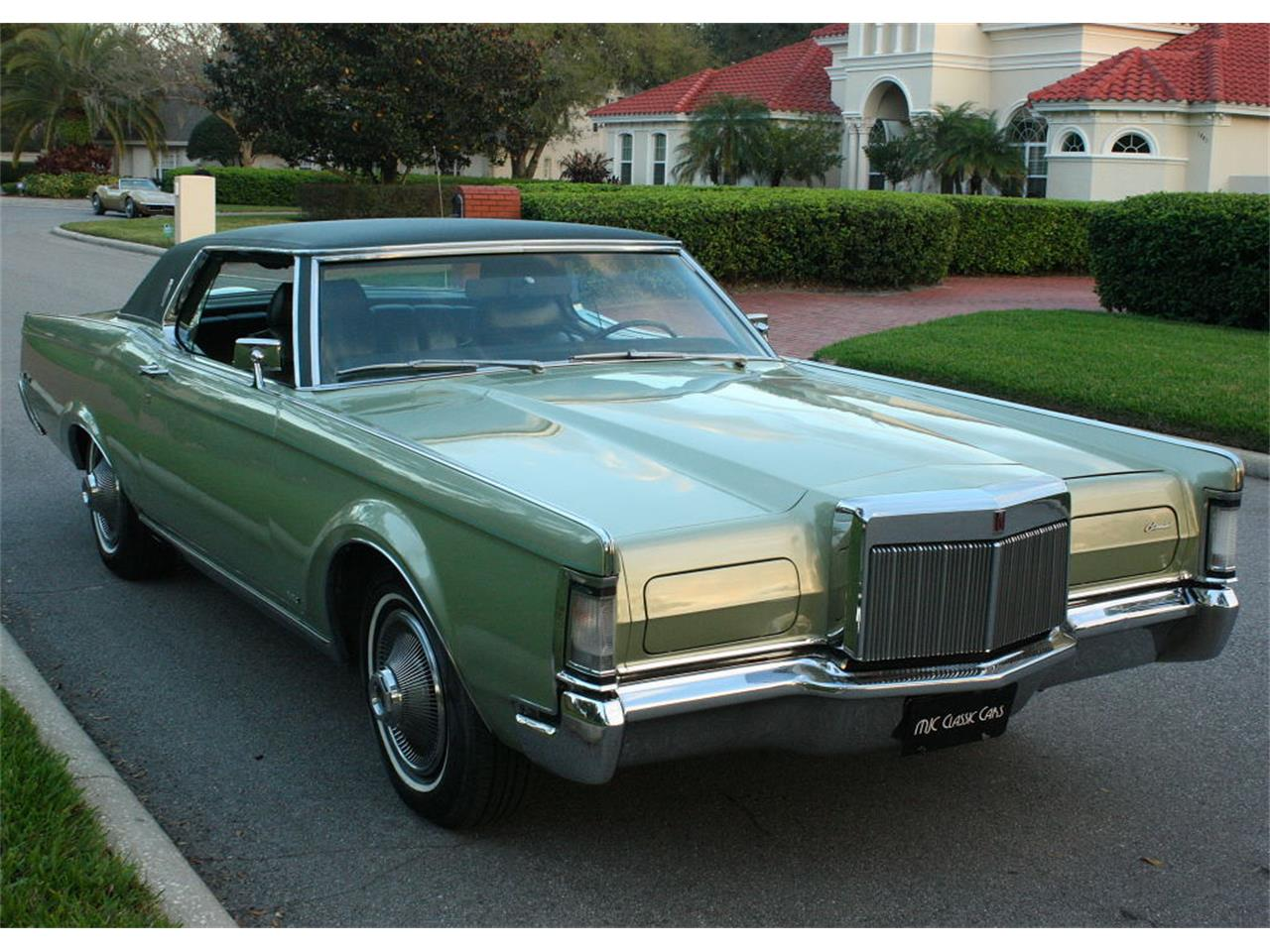 Large Picture of '69 Continental Mark III located in Lakeland Florida - OPDW