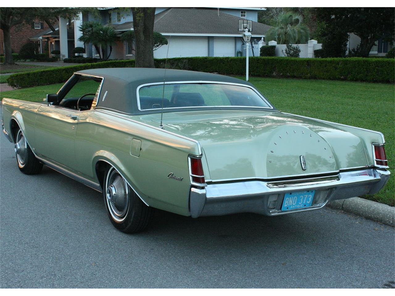 Large Picture of Classic '69 Lincoln Continental Mark III located in Lakeland Florida - OPDW