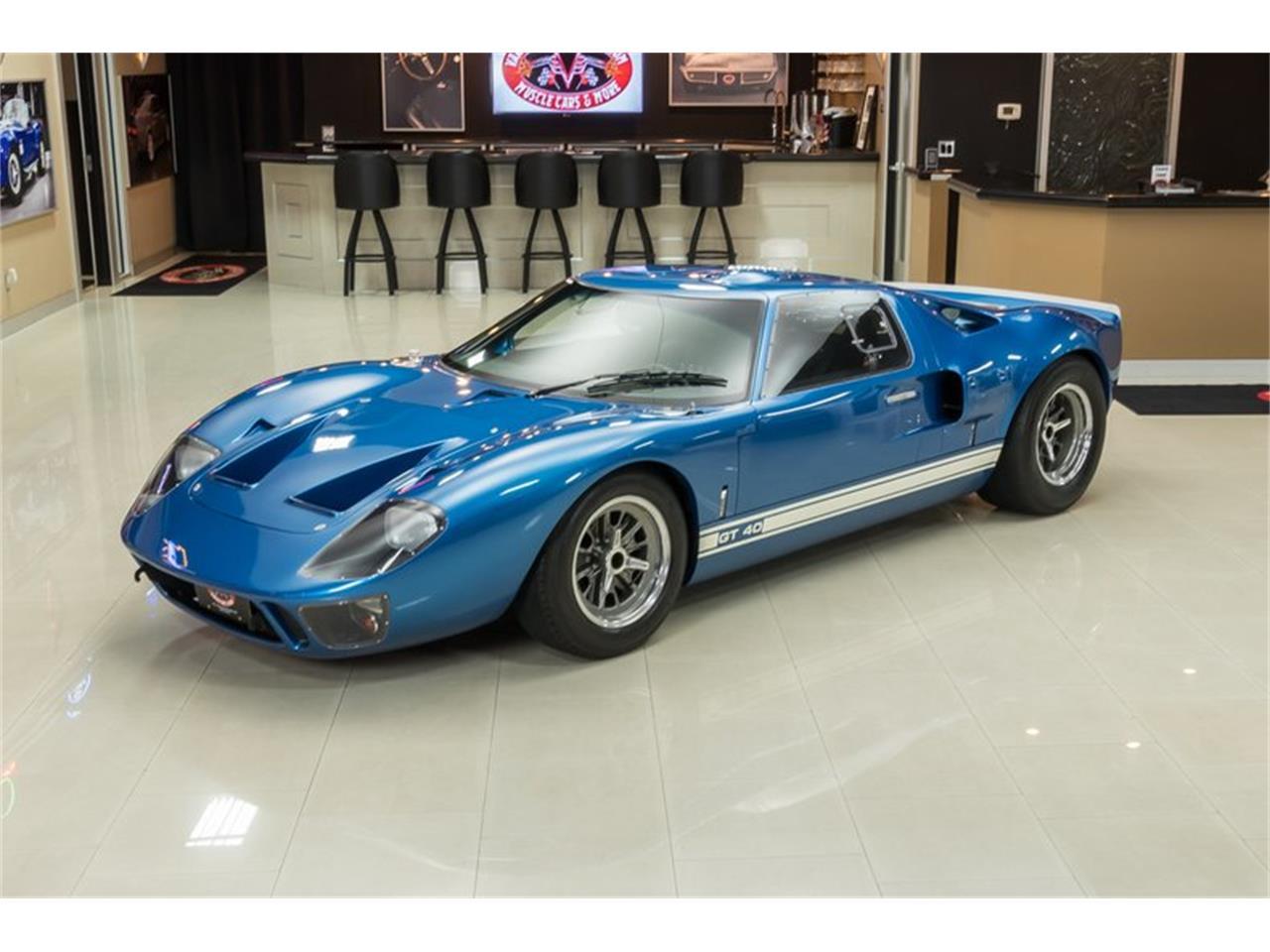 Superformance Gt40 - Detroit Auto Show