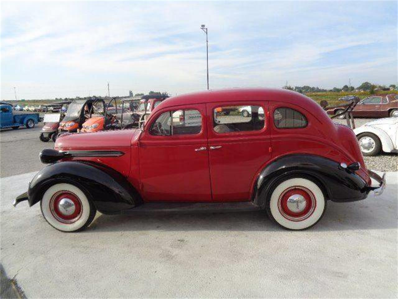 Large Picture of 1937 Plymouth 4-Dr Sedan located in Illinois - OPJ0
