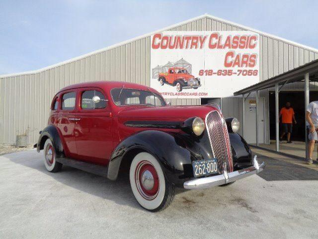 Picture of Classic '37 Plymouth 4-Dr Sedan located in Staunton Illinois - $13,950.00 Offered by  - OPJ0