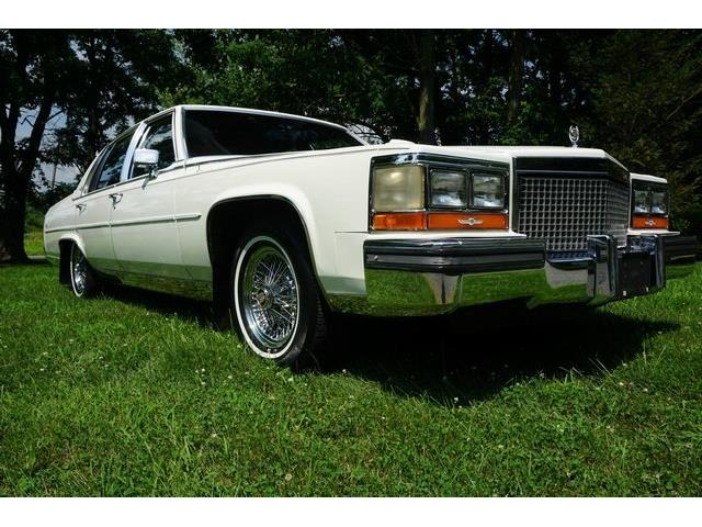 Picture of '87 Cadillac Fleetwood Brougham located in Monroe New Jersey - OPLV