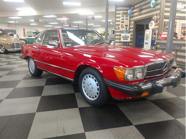 Picture of '88 560SL - OPT8
