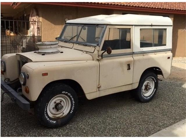Picture of '69 Land Rover Series IIA located in California - OPVE